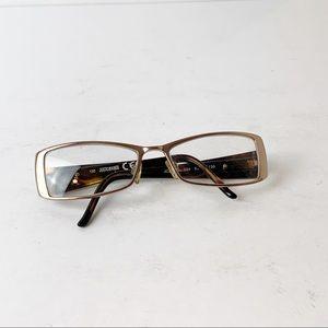 Just Cavali Gold Trim Glasses